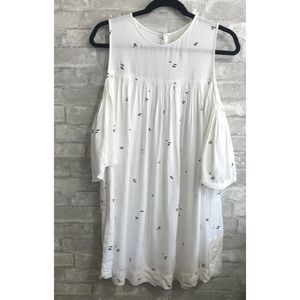 OAK+FORT Oversized loose fit Cold Shoulder Dress